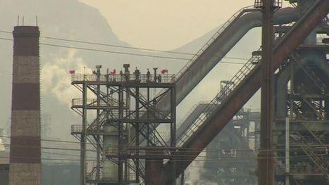 China re-opens steel mills despite pledge to cut production - BBC News | China: Pre-U Economics | Scoop.it