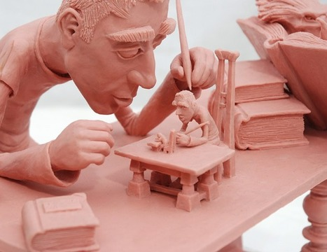 Ehud Landsberg | Illustrator | Sculptor | les Artistes du Web | Scoop.it