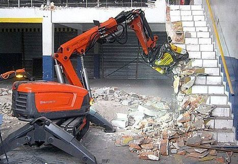 » Mini robots empleados en la demolición | Víctor Yepes Piqueras | Scoop.it