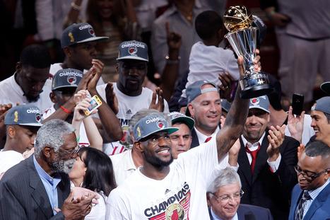 Miami Heat Win The 2012 NBA Finals (PHOTOS) | www roundup | Scoop.it