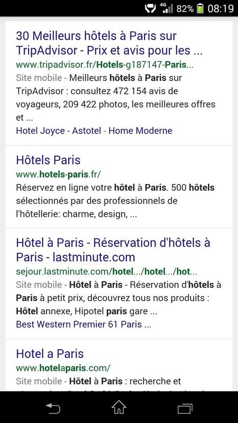 Pourquoi le mobile est au centre des stratégies eTourisme | Nouvelles Technologies et Tourisme | Scoop.it