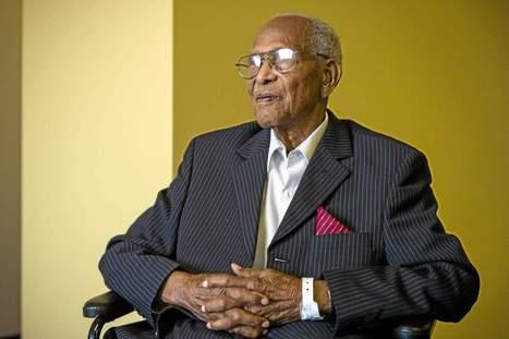 Oldest living Tuskegee Airman Walter Crenshaw celebrates 104th birthday   Tuskegee Airmen   Scoop.it
