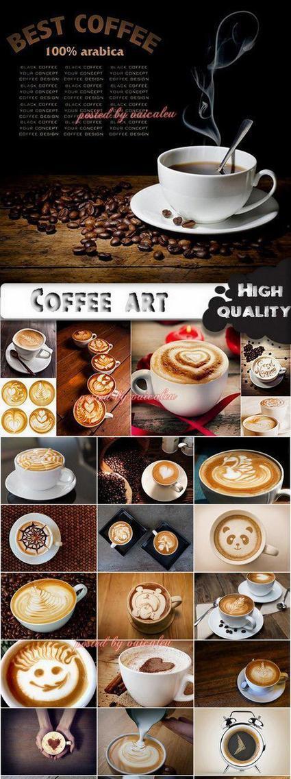 Coffee art stock Images - 25 HQ Jpg | DesignFeed | Scoop.it