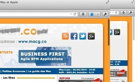 Firefox 23 (nightly) adopte les barres de défilement de Lion | Apple, IMac and other Iproducts | Scoop.it