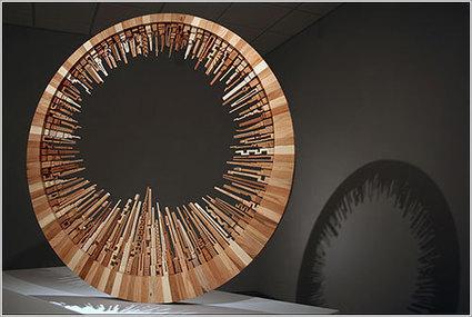 Las ciudades talladas en madera de Joseph McNabb | tic | Scoop.it