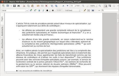 Master PDF - Modifier un PDF sous Linux - Korben | Les outils d'HG Sempai | Scoop.it