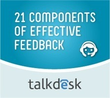 21 Components of Effective Feedback | Talkdesk | Call Center Management | Scoop.it