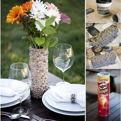 Pringles Can to Vase Stop don't throw out that... - Austin Junk Removal Blog - Dirty Work | Upcycling & Recycling | Scoop.it