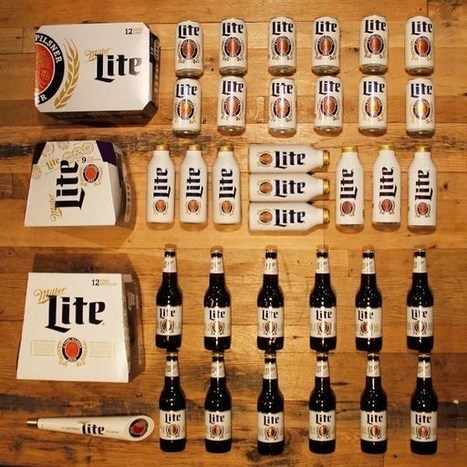 Miller Lite goes back to roots though heritage packaging and brand identity - Popsop.com | packaging | Scoop.it