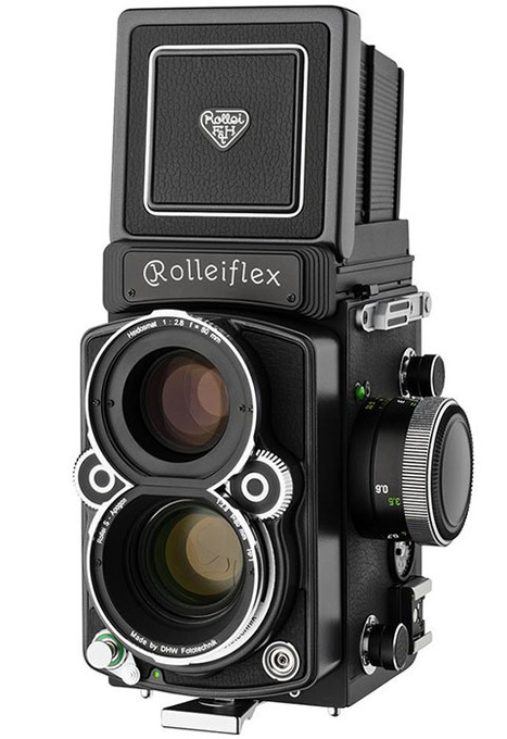 Rolleiflex Still Happily Making Analog TLR Cameras, FX-N to Debut at Photokina | News photos | Scoop.it