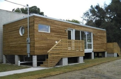 First Container Home in New Orleans - Jetson Green | Small Spaces | Scoop.it
