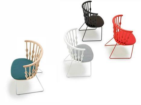 Nub Collection / Patricia Urquiola for Andreu World   Designalmic   Designalmic   Scoop.it