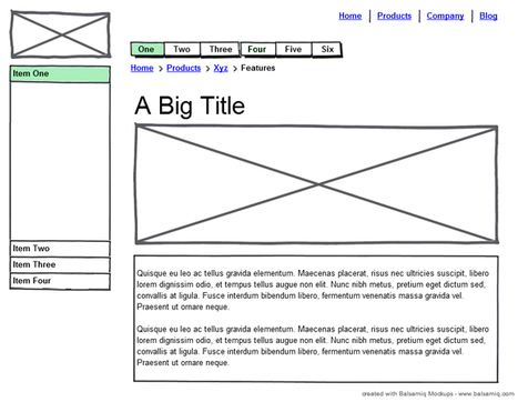 What is WireFrames Web Design And 10 Tools To Create Wireframes | Expertiential Design | Scoop.it