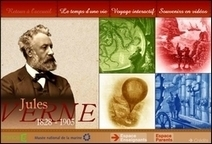 Voyage interactif dans l'univers de Jules Verne | L'Atelier de la Culture | Scoop.it