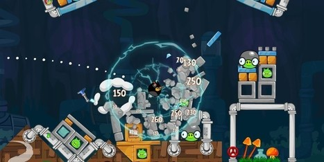 Angry Birds Updates With 30 New Levels, 'Shock Fuse' Bomb Bird & Pig Potions | Best Android Apps | Scoop.it
