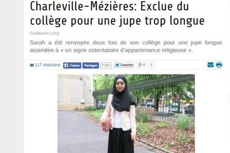 Les Inrocks - Sarah K., 15 ans, aurait été exclue de son collège pour une jupe jugée trop longue | L'enseignement dans tous ses états. | Scoop.it