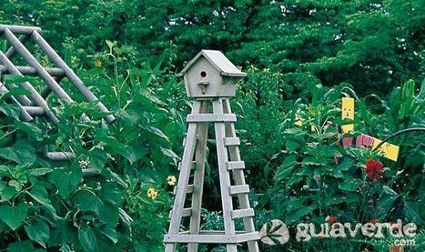 Fabrica una casita de pájaros para tu jardín, en El Blog de GuíaVerde | TICs i educació | Scoop.it