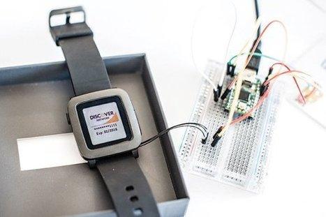 Hacking on the Pebble Smartstrap | FabLab - DIY - 3D printing- Maker | Scoop.it