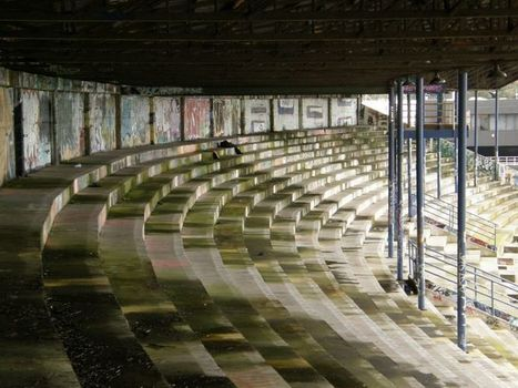 Abandoned Rugby Stadiums, Derelict Grounds & Overgrown Pitches | Photography | Scoop.it