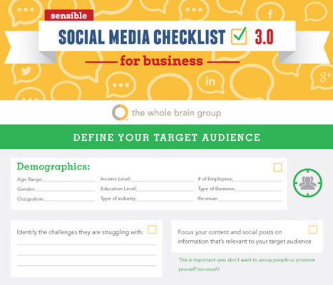 Social Media Checklist [Infographic] - Juntae DeLane | Chummaa...therinjuppome! | Scoop.it