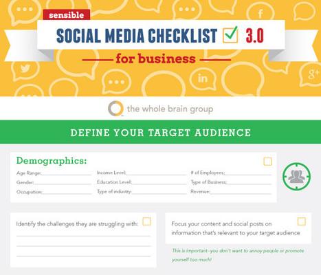 Social Media Checklist [Infographic] - Juntae DeLane | Chummaa...therinjuppome! | Scoop.it
