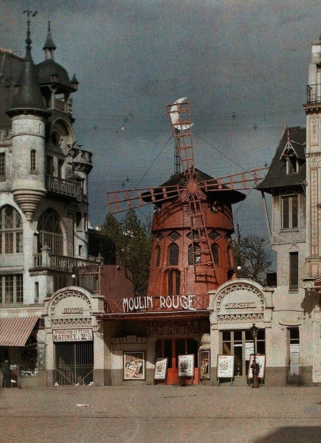 anthony luke's not-just-another-photoblog Blog: Paris a 100 Years Ago...In Colour. C'est très Magnifique! | History in Pictures | Scoop.it
