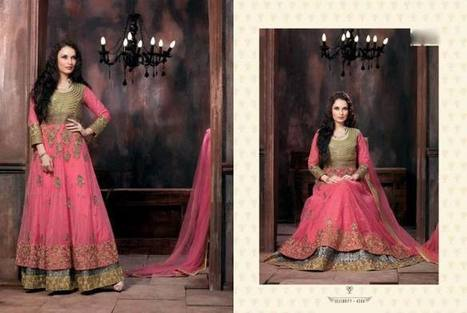Saheli Couture Wedding Dress Style | Strawberry Chiffon RTW LZahra Ahmad Fall Winter Exclusive Collection 2013atest Collection 2013 For Ladies. | Scoop.it