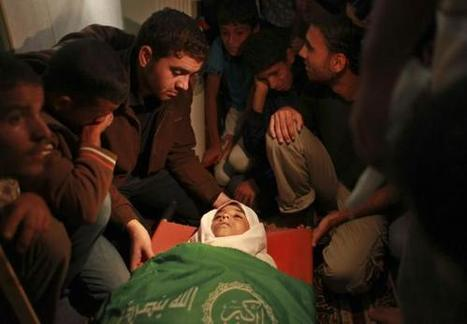 #GazaUnderAttack | Israel assassinated 13 year old Hamid Younis Abu Dagka in Gaza | Gaza Under Attack | Scoop.it