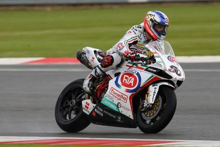 Silverstone WSBK: Guintoli wins on Pata Ducati debut | BSN | Ductalk | Scoop.it