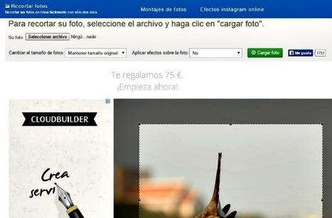 Recortar fotos: utilidad web gratuita para recortar imágenes | Contactos sinápticos | Scoop.it