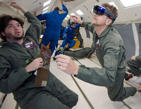 Nasa equips astronauts with Microsoft's virtual reality headset | cool stuff from research | Scoop.it
