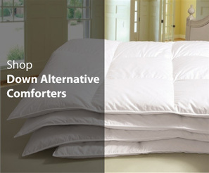 Down Comforters: Goose Down Comforters, Down Alternative Comforters at EgyptianLinensOutlet.com | Egyptian Linens Outlet | Scoop.it