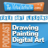 Free Art Lessons and Tutorials - TheVirtualInstructor.com | Technology in Art And Education | Scoop.it