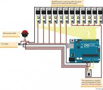 Arduino Custom Flasher Box for LED Light Bar | Raspberry Pi | Scoop.it
