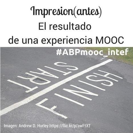 Impresion(antes): el resultado de una experiencia MOOC | Educacion, ecologia y TIC | Scoop.it