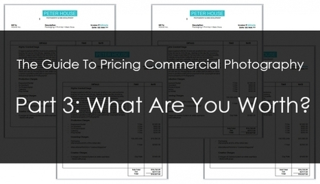 The Guide To Pricing Commercial Photography Part 3: What Are ...   Photography   Scoop.it