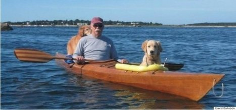 Man's Custom Kayak That Fits Two Dogs Is Totally Paw-some | Xposed | Scoop.it