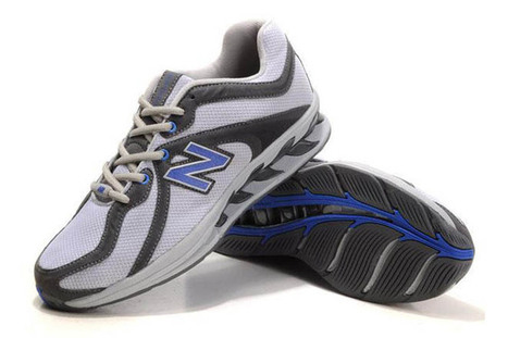 Men's new balance MW850SB White Grey Blue Toning Sneakers   share and want   Scoop.it