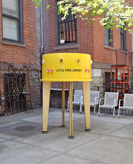 Book Patrol: The coolest little free library yet? | innovative libraries | Scoop.it