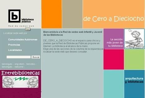Espacio para las bibliotecas dirigidas a niños y jóvenes | Sexto Primaria | Scoop.it