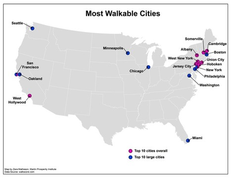 Why Walkable Cities Aren't Always the Ones You'd Think | AP HUMAN GEOGRAPHY DIGITAL  STUDY: MIKE BUSARELLO | Scoop.it