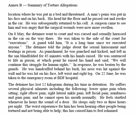 BICI report page 439, about Abdulhadi Alkhawaja | Human Rights and the Will to be free | Scoop.it