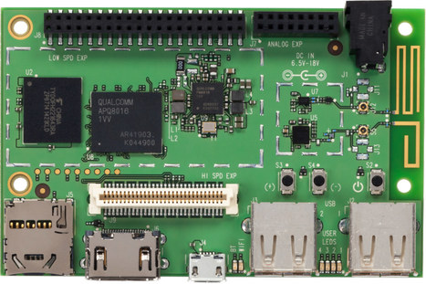 DragonBoard 410c 64-bit ARM Development Board in Stock for $75 | Embedded Systems News | Scoop.it