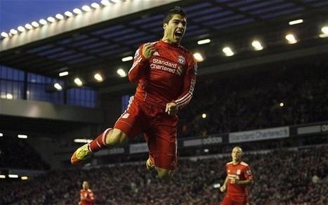 10 Gol Terbaik Luis Suarez di Liverpool   The Kopites Way   Kopites Tribune   Scoop.it