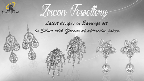 Zircon jewellery in silver | Diamond Jewellery India | Scoop.it