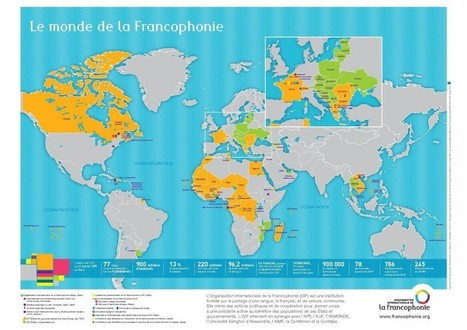 CÉLÉBRONS LA FRANCOPHONIE ! (FICHE PÉDAGOGIQUE) | Teaching with technology | Scoop.it