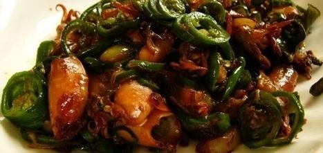 Resep Membuat Cumi Asin Cabai Hijau | Astorezon.com | Resep Masakan Asli Indonesia | Scoop.it