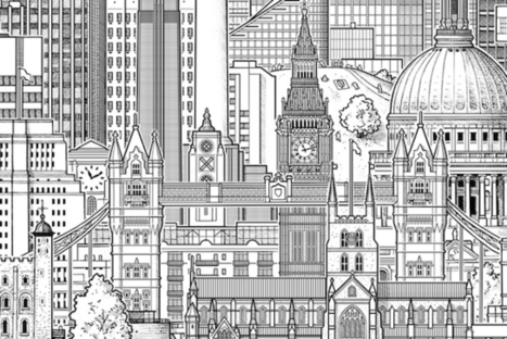Towers Of London: City's Tallest Buildings In One Lofty Drawing | Illustration Cloud - in the wild | Scoop.it