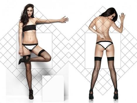 La culotte geek en pixel - Mon Coin Design | Design insolite | Scoop.it