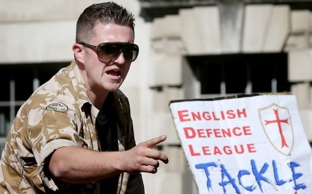'I am not a Nazi', says EDL leader Tommy Robinson - Telegraph | Nationalist Media Network | Scoop.it
